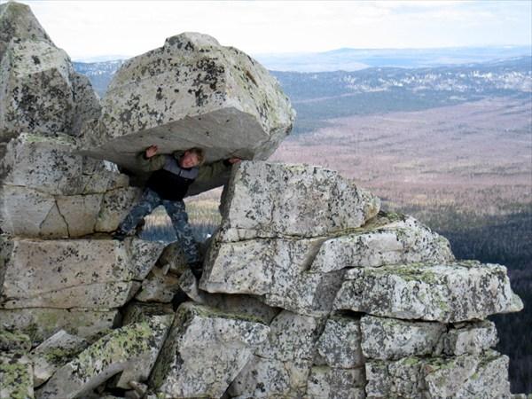 Так создаются Уральские горы!