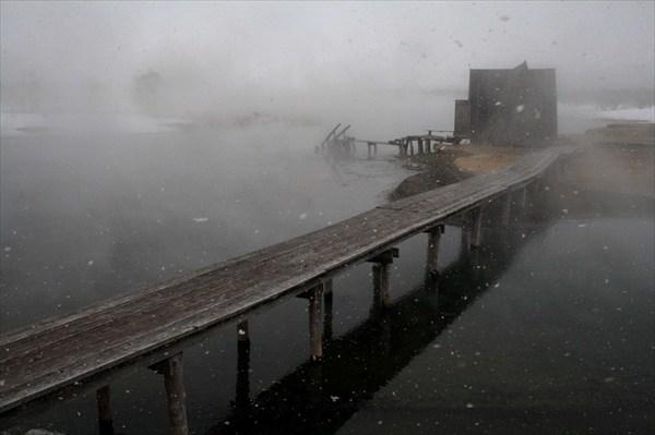 Горячее озеро под Ходуткой