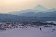 Камчатка  Спуск в долину Верхне-Опалинских источников