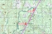 Карта от Иммокила до Бахты