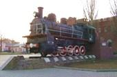 паровоз в Таганроге