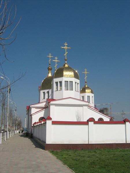единственный православный храм Грозного