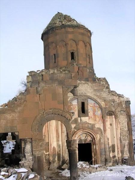 наиболее уцелевшая церковь в Ани