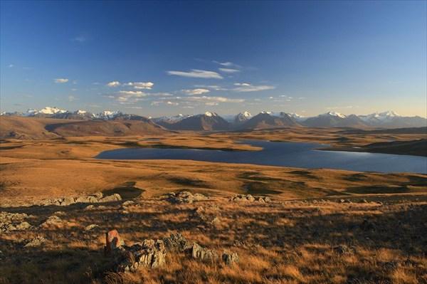 на фото: плато Укок