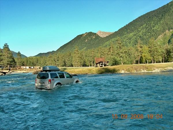 форсирование реки Пшиш