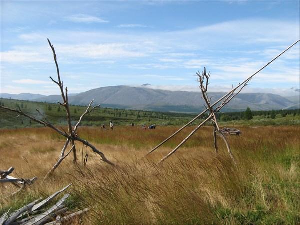 Вид на хребет Росомаха