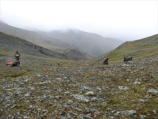 Спуск в долину Б. Тыкотлова