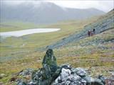 Вид с перевала на  исток Селэмью