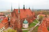 Готический кафедральный собор Фромборка