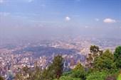 Богота. Вид с горы Монсеррат
