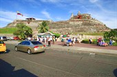 Крепость Сан Филипе де Барахас. Картахена. Колумбия