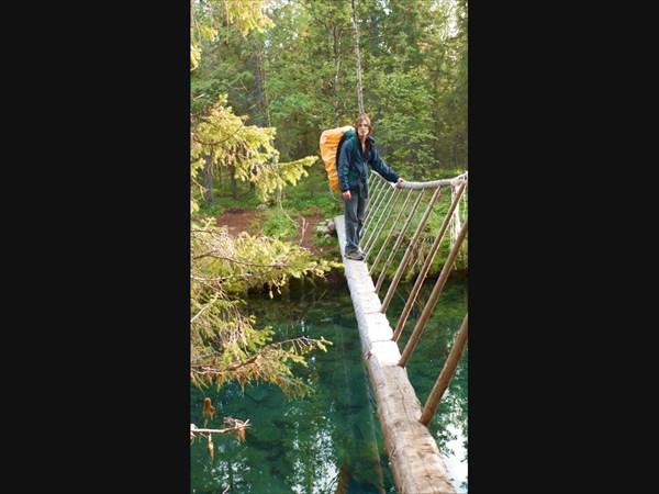 Мост через Эльморайок.