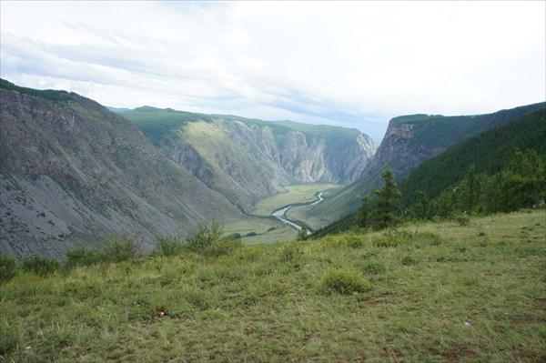 Долина Чулышмана. Вид на другую сторону.
