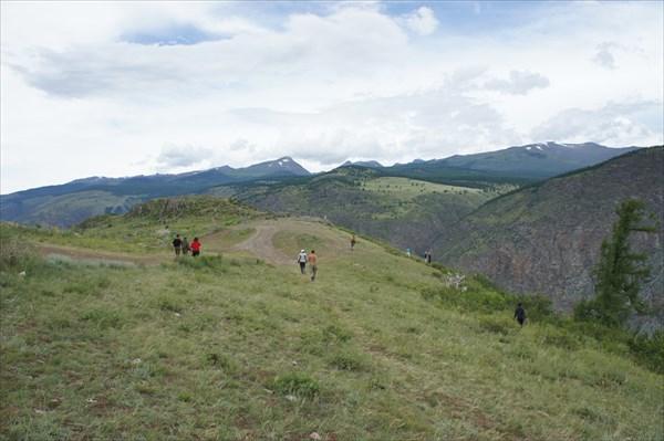 Впереди перевал Кату-Ярук.