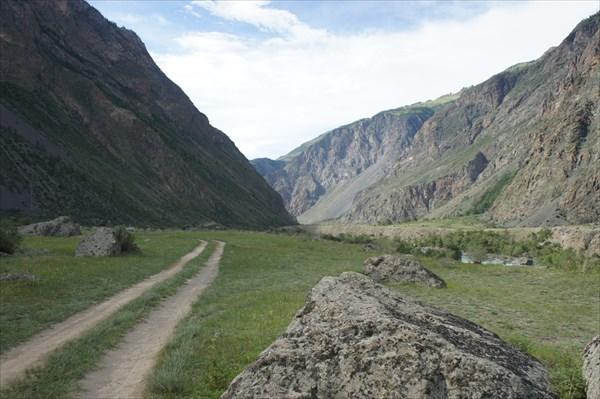 Совсем другая природа возле Чулышмана. другой Алтай.