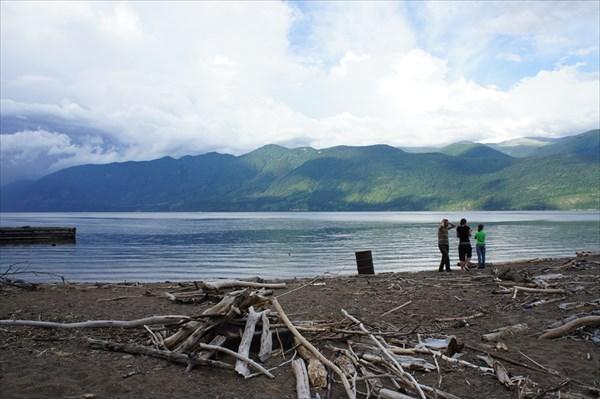 Вот оно Телецкое озеро с южной стороны.