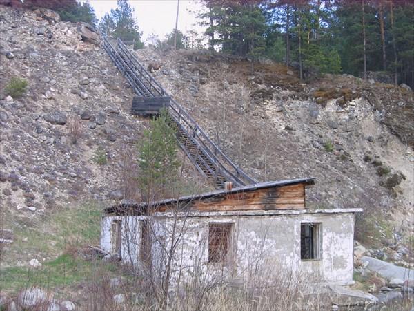 Заброшенно восстановленный источник горячей воды