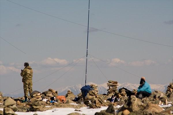 Радиоэкспедиция на г. Сарлык 30 апреля 2011 г.