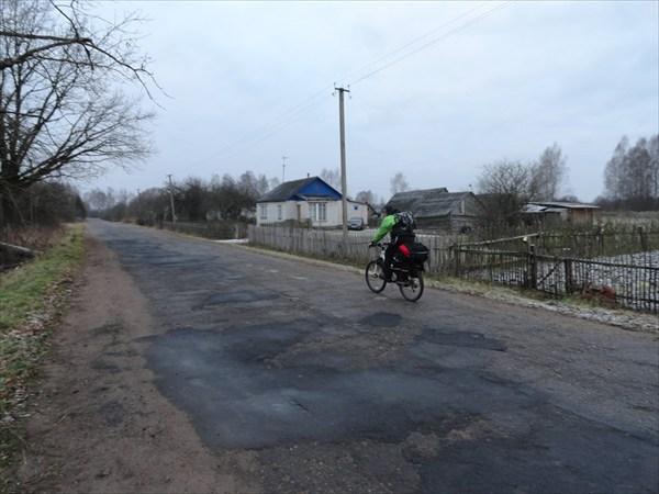 Участок дороги Дубровка - Морозовка