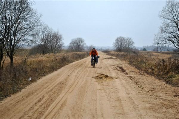 Участок дороги Верезубы - Татарск