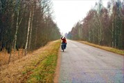 Участок дороги Татарск - Монастырщина