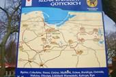 Карта замков северной Польши