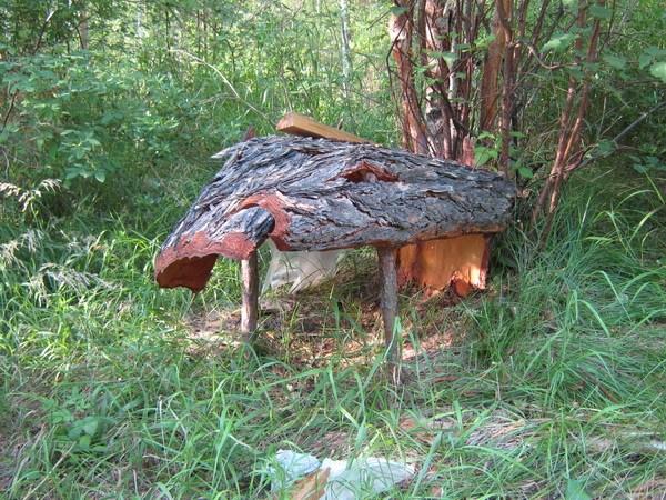 Навесик для собаки (или укрытие для ловушки)