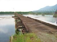 Автомобильный мост через Витим (недостроенный)