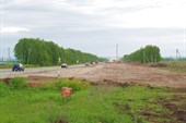 М5. На десятках километров строится второе дорожное полотно.