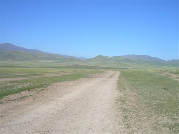 02. Спуск с перевала.