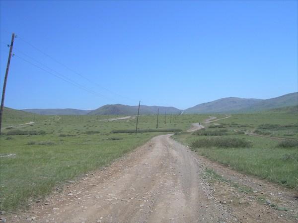 10. Дорога на перевал Саглы.