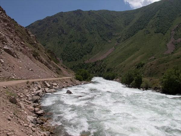 Начало долины реки Кекемерен