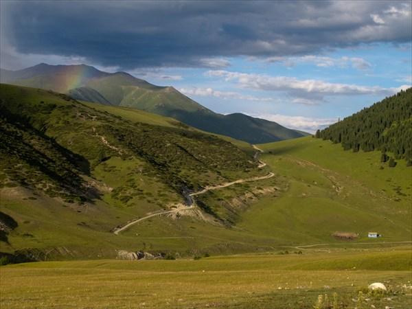 Перевал из Семеновского ущелья