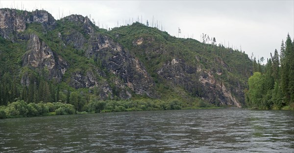 Мана перед притоком Ангалой