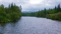 Река Мана у моста
