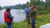 Беседа с рыбаками