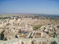 Вид с Цитадели в Алеппо