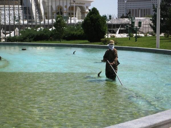 Турменсий рыболов