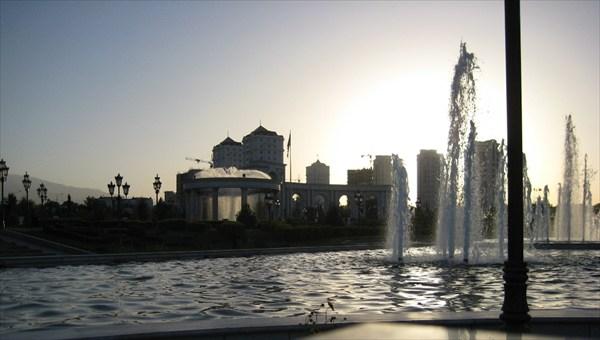 Туркменский закат