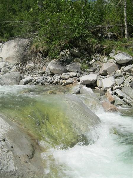 Дальше вверх по реке Елоты-Х