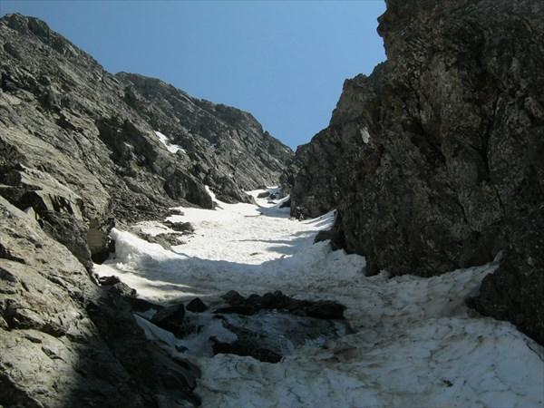 Подъем на перевал Хитрый 2А 3000м