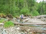 3 день, Идем по реке Илтыкшин