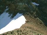 Вот пер.Хитрый справа река Елоты-Х,слева спуск к реке Ганга Хайр