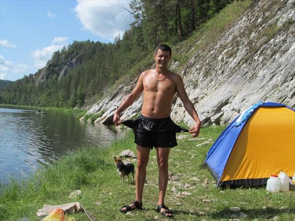 Лагерь на Белой
