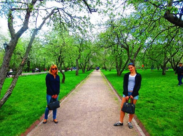 Казанский яблоневый сад, Коломенское