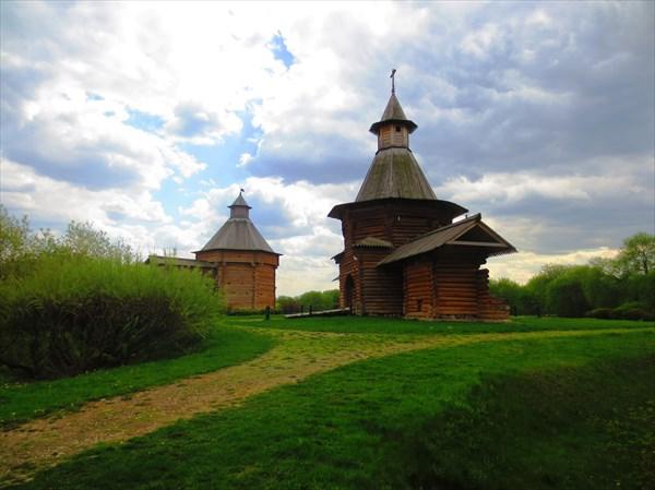 Башня Николо-Корельского монастыря