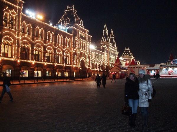 ГУМ Красная площадь январь 2010