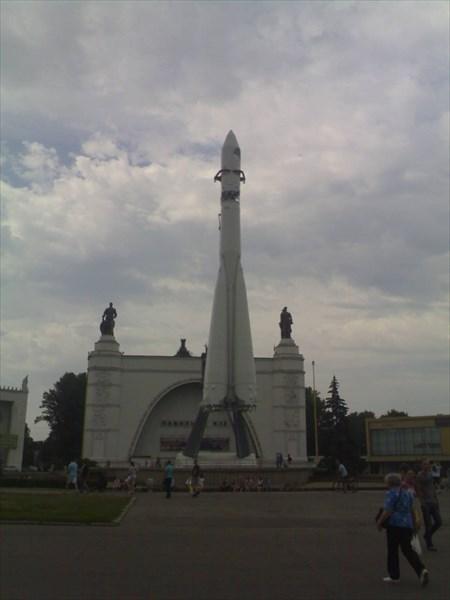 Павильон Космос 1938—1954 ВДНХ