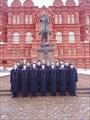 Памятник маршалу Жукову 1995