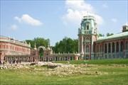 Галерея-ограда с воротами, Царицыно 1784-1785 гг